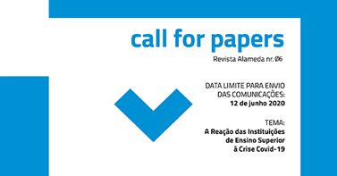 CALL FOR PAPERS || REVISTA ALAMEDA