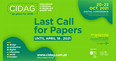 6th CIDAG | LAST CALL FOR PAPERS